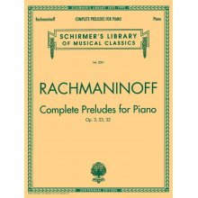 RACHMANINOFF S. Complete Preludes for Piano Op.3, 23, 32