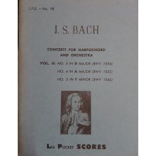Bach J.S. Concerti for Harpsichord and Orchestra