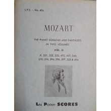 Mozart W.A. Complete Piano Sonatas and Fantasies Vol.2