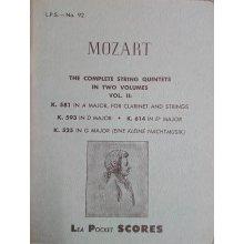 Mozart W.A. Complete String Quintets Vol.2