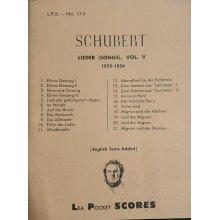 Schubert F. Lieder Vol.5