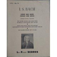 Bach J.S. Lieder und Arien