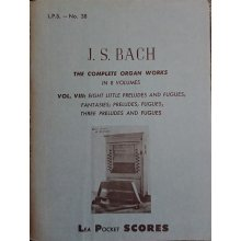 Bach J.S. The Complete Organ Works Vol.8