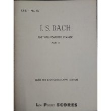 Bach J.S. The Well-Tempered Clavier Vol.2