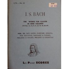 Bach J.S. Works for Clavier Vol.6