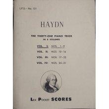 Haydn F.J. Piano Trios Vol.1