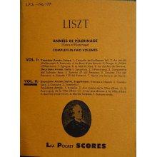 Liszt F. Années de Pélerinage Vol.2