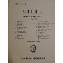 Schubert F. Lieder Vol.6