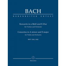 Bach J.S. Violin Concertos in A minor and E major BWV 1041-1042