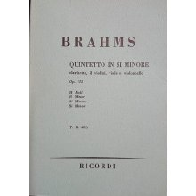 Brahms J. Quintetto in Si minore Op.115