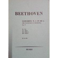 Beethoven L.van Concerto N.5 in Mi Bemolle per Pianoforte e Orchestra Op.73