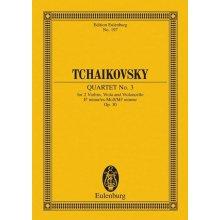 Ciaikovsky P.I. Streichquartet Es Op.30