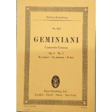 Geminiani F. Concerto Grosso Op.3 n.5