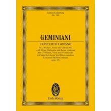 Geminiani F. Concerto Grosso Op.3 n.6