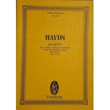 Haydn F.J. String Quartet F minor Razor op. 55/2 Hob. III: 61
