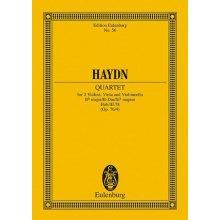 Haydn F.J. Quartetto Op. 76 N. 4 Si B L'Aurora Hob. III:78