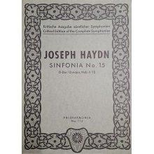Haydn F.J. Sinfonia n.15 Re maggiore Hob. I:15