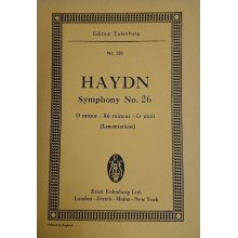 Haydn F.J. Sinfonia n.26 Re minore Hob. I:26