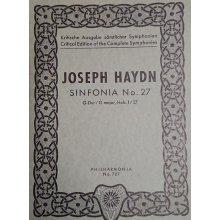 Haydn F.J. Sinfonia n.27 Sol maggiore Hob. I:27