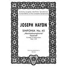 Haydn F.J. Sinfonia n.45 Fa diesis minore Hob. I/45