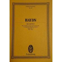 Haydn F.J. String Quartet G major Op. 76 N. 1 Sol Hob. III:75