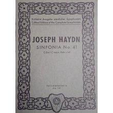 Haydn F.J. Sinfonia n.41 Do maggiore Hob. I:41