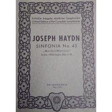 Haydn F.J. Sinfonia n.43 Mi bemolle maggiore Hob. I:43