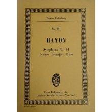 Haydn F.J. Symphony No.34 D major Hob. I:34