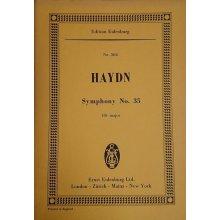 Haydn F.J. Symphony No.35 Bb major Hob. I:35