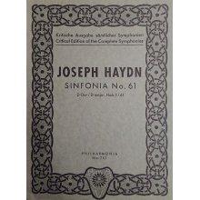 Haydn F.J. Sinfonia n.61 Re maggiore Hob. I/61