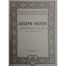 Haydn F.J. Sinfonia n.65 La maggiore Hob. I/65