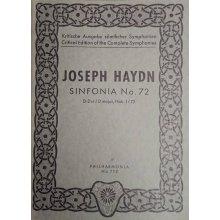 Haydn F.J. Sinfonia n.72 Re maggiore Hob. I/72