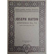 Haydn F.J. Sinfonia n.74 Mi bemolle maggiore Hob. I/74
