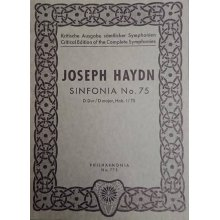 Haydn F.J. Sinfonia n.75 Re maggiore Hob. I/75