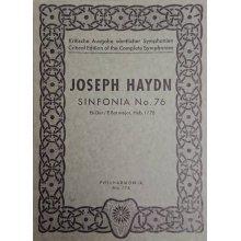 Haydn F.J. Sinfonia n.76 Mi bemolle maggiore Hob. I/76