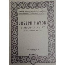 Haydn F.J. Sinfonia n.77 Si bemolle maggiore Hob. I/77