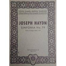 Haydn F.J. Sinfonia n.79 Fa maggiore Hob. I/79