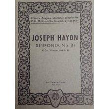 Haydn F.J. Sinfonia n.81 Sol maggiore Hob. I/81