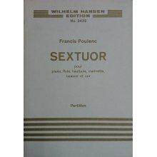 Poulenc F. Sextuor