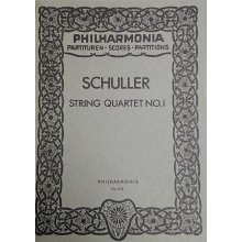 Schuller G. String Quartet No.1