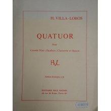 Villa-Lobos H. Quatuor pour grande flute, hautbois, clarinette et basson