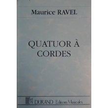 Ravel M. Quatuor à Cordes