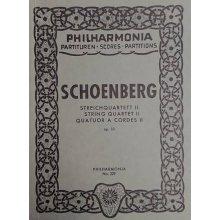 Schoenberg A. String Quartet II