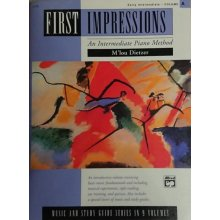 Alfred First Impressions Vol.A