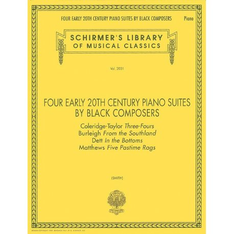 AA.VV Four Early 20th Century Piano Suites