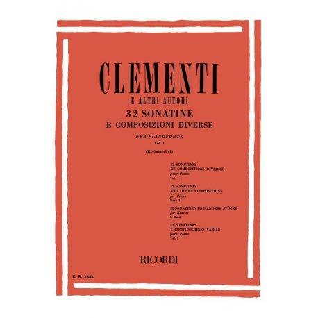 Clementi e altri Autori - 32 Sonatine e Composizioni Diverse Vol.1
