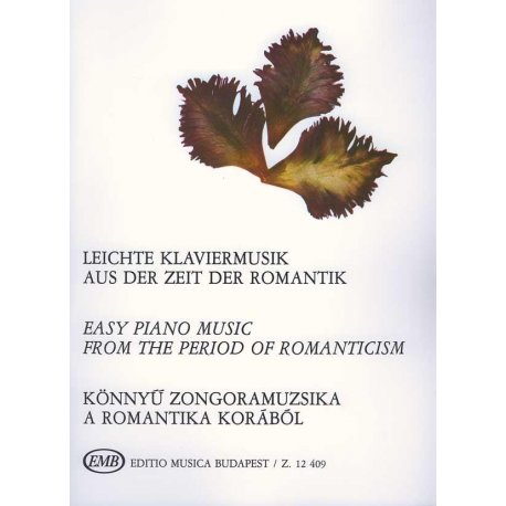 Easy Piano Music from the Period of Romanticism