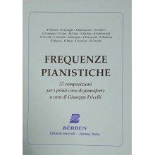 Fricelli G. Frequenze Pianistiche 33 Composizioni per i Primi Corsi di Pianoforte