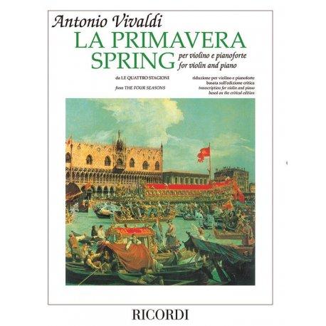 """VIVALDI A. da """"Quattro Stagioni"""" Primavera"""