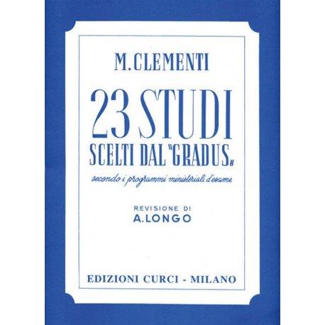 CLEMENTI M. 23 Studi dal Gradus ad Parnassum (Longo)